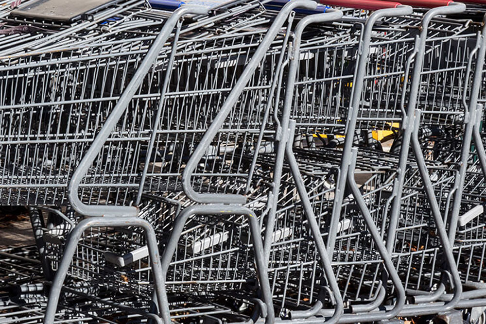 Shopping Cart Cleaning